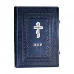 Библия кожаный переплет синодальный перевод
