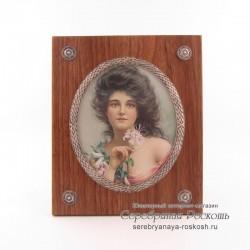 Рамка для фотографии деревянная