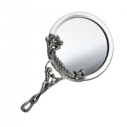 Серебряное зеркальце Девушка