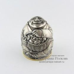 Серебряная рюмка Грибник