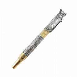 Серебряная ручка Кабан