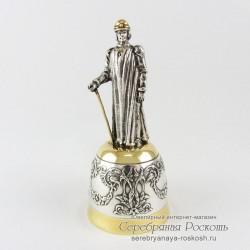 Штрафная рюмка из серебра Король