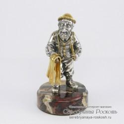 Статуэтка из серебра Еврей портной
