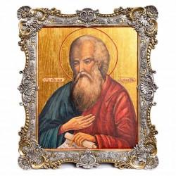 Серебряная икона Иоанн Богослов