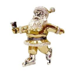 Статуэтка Дед Мороз на коньках