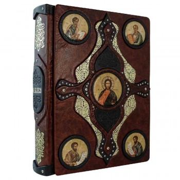 Подарочная Библия с иконами