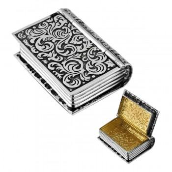 Серебряная таблетница Книга