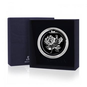 Серебряная закладка для книг Цветок