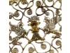 Серебряная конфетница Грифоны