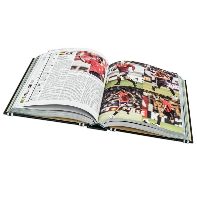 Большая энциклопедия футбола подарочная книга в кожаном переплете