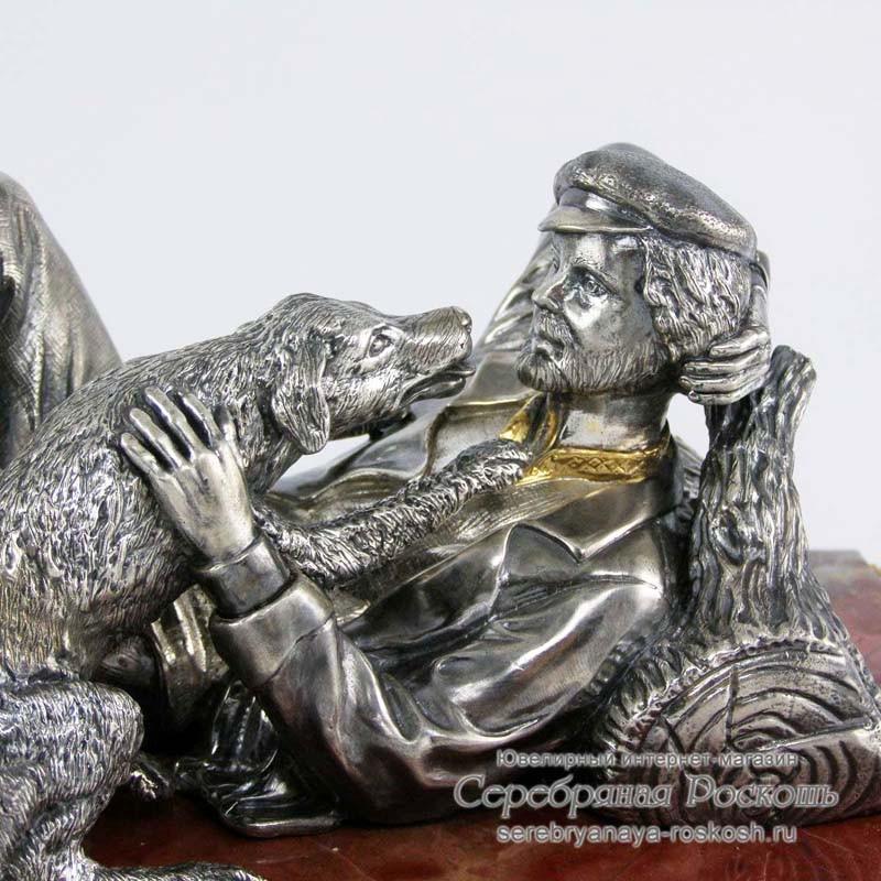 Статуэтка Охотник на привале