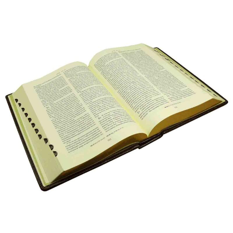 Кожаная библия синодальная