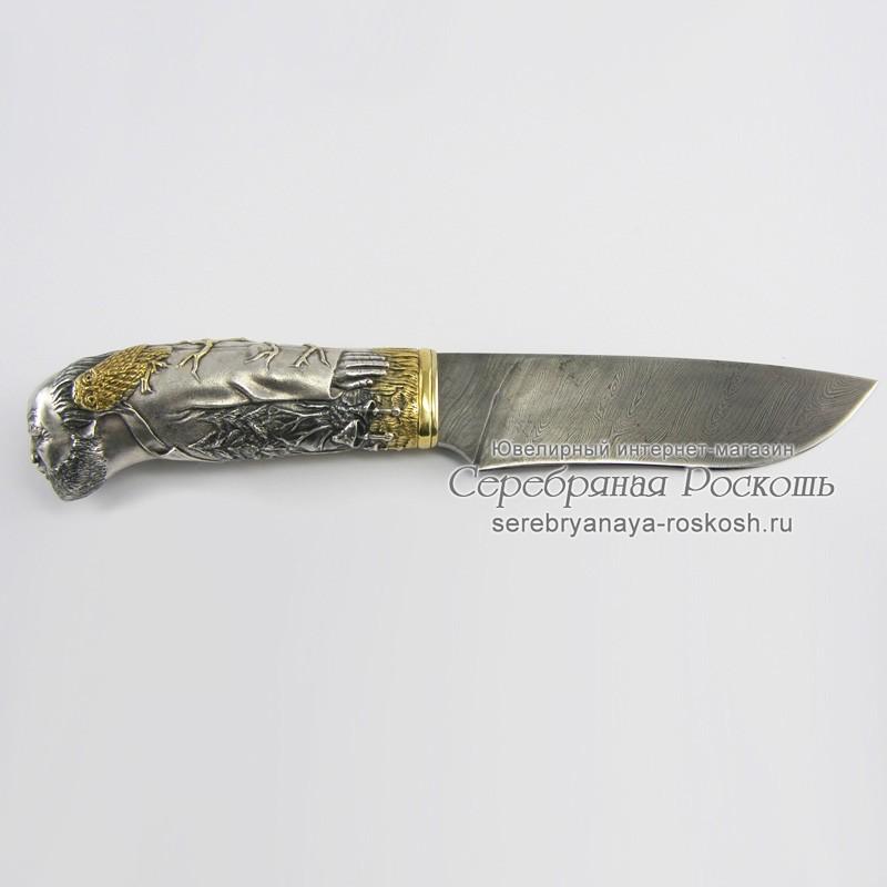 Охотничий нож ручной работы Леший