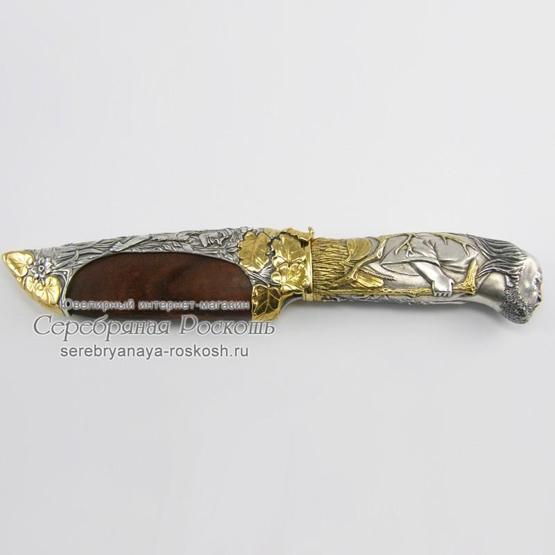 Охотничий нож ручной работы Леший (без упаковки)