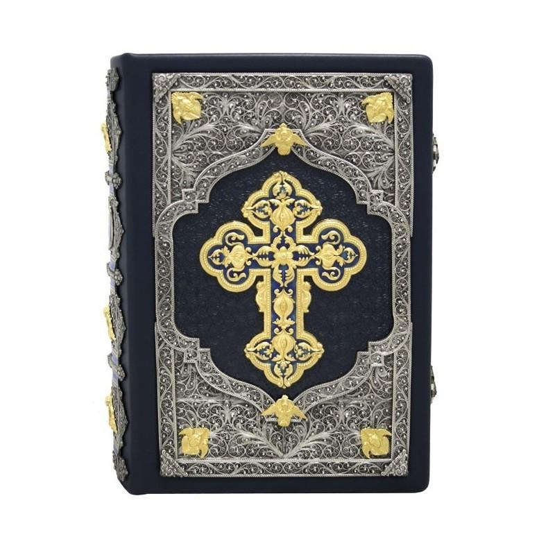 Острожская Библия в кожаном переплете