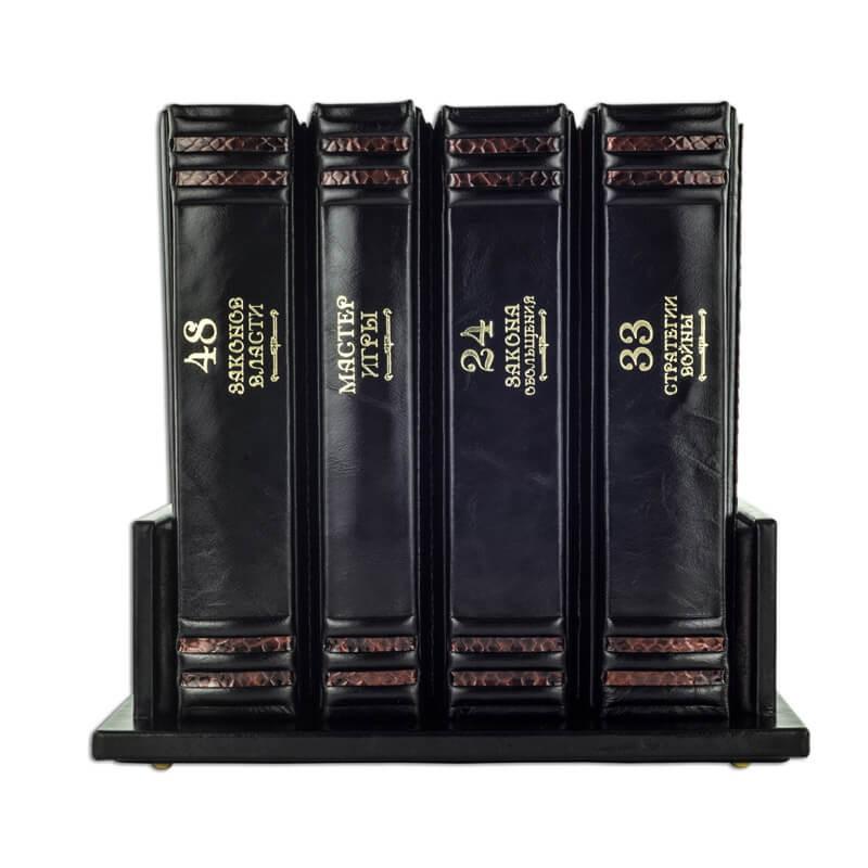 Подарочное издание в кожаном переплете - Роберт Грин - Искусство власти в 4-х томах