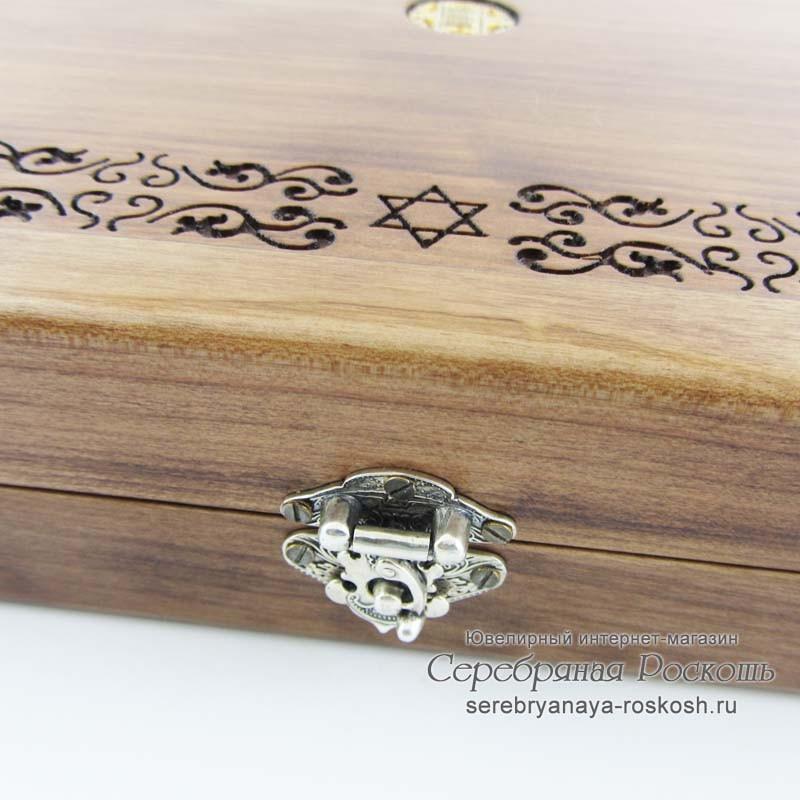 Нарды серебряные Еврейские
