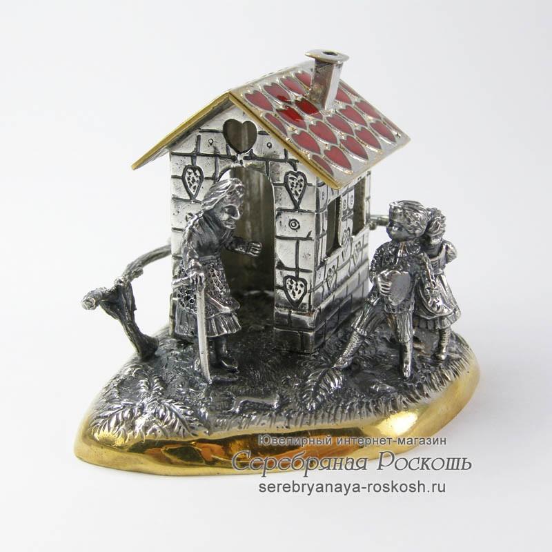Композиция пряничный домик