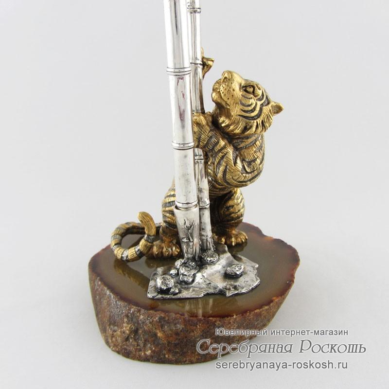 Подставка для ручки Тигр