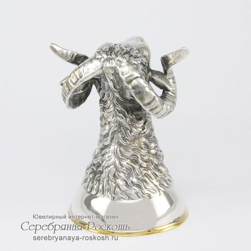 Серебряная рюмка Баран