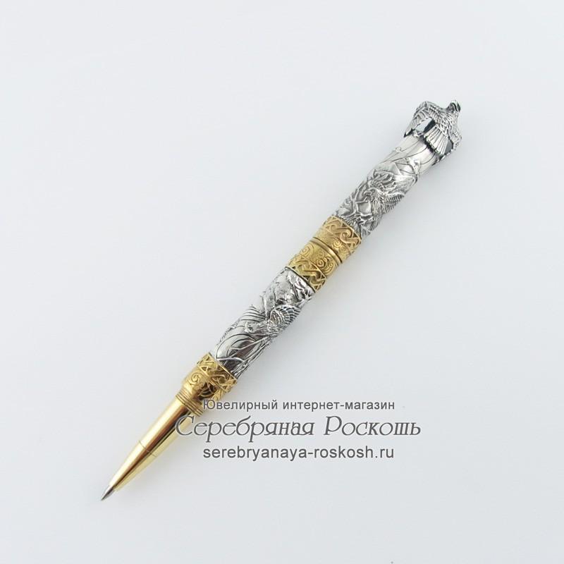 Серебряная ручка Орел