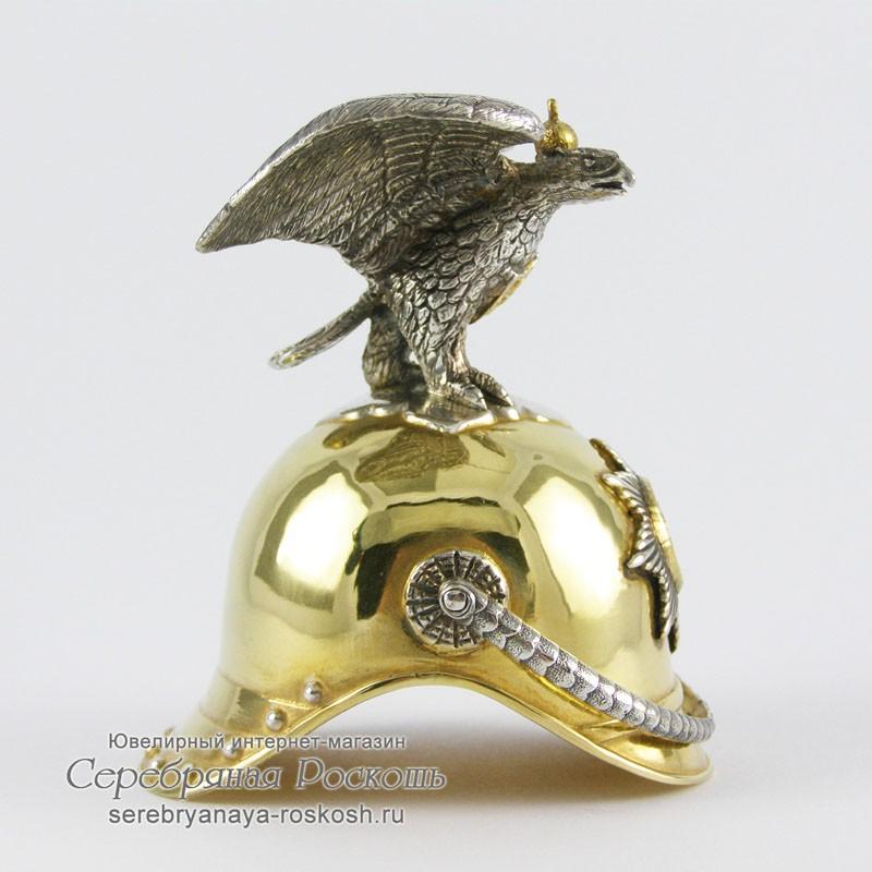 Серебряная рюмка - Кавалергардская каска