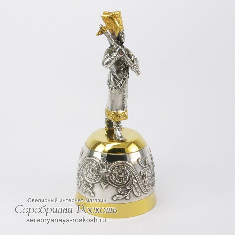 Серебряная штрафная рюмка Боярин