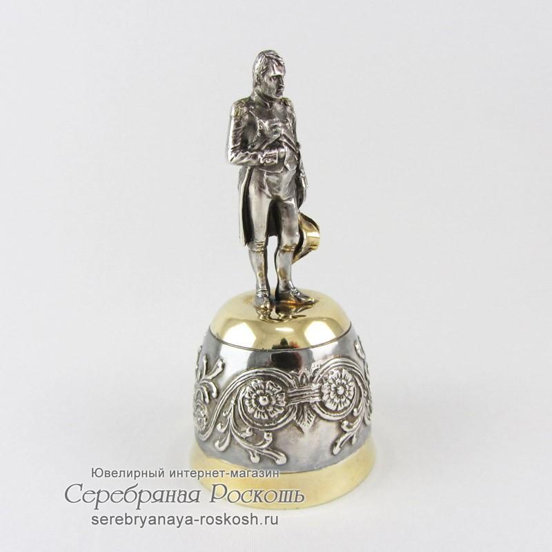 Серебряная штрафная рюмка Наполеон