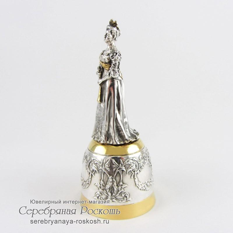 Серебряная штрафная рюмка Александра Федоровна