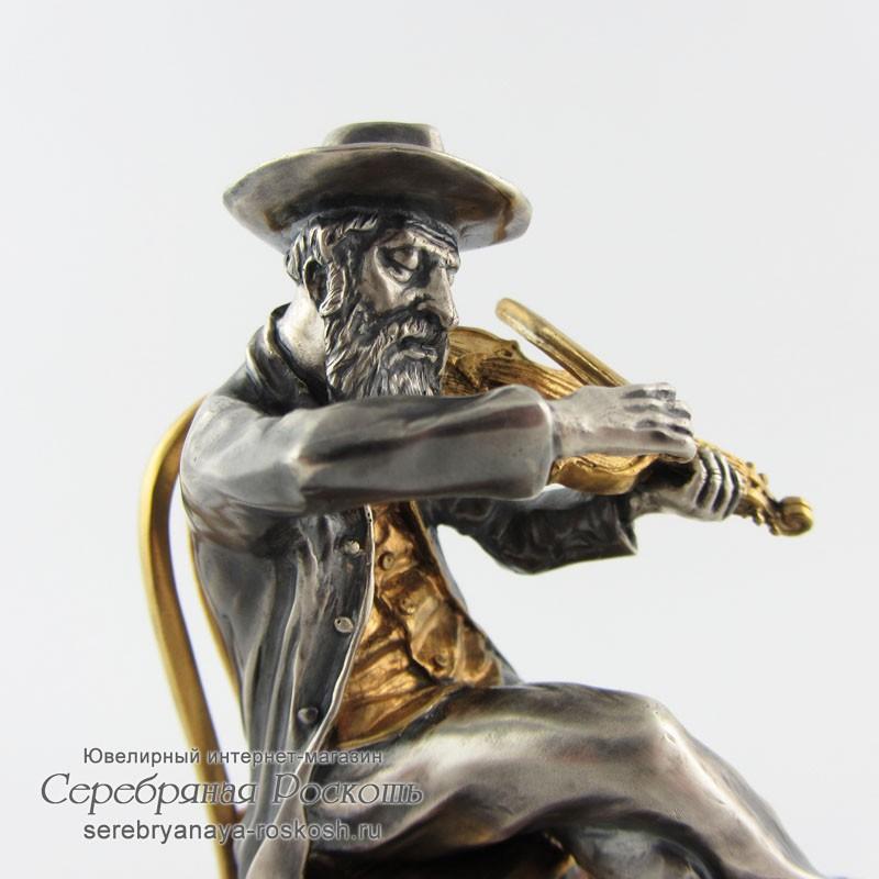 Статуэтка еврей скрипач