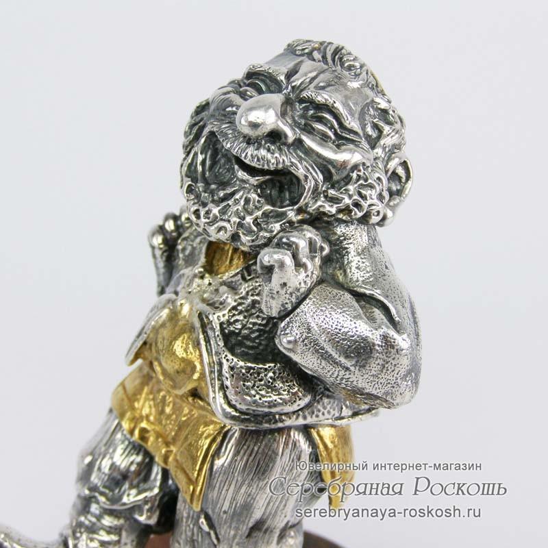 Серебряная статуэтка Еврей в танце