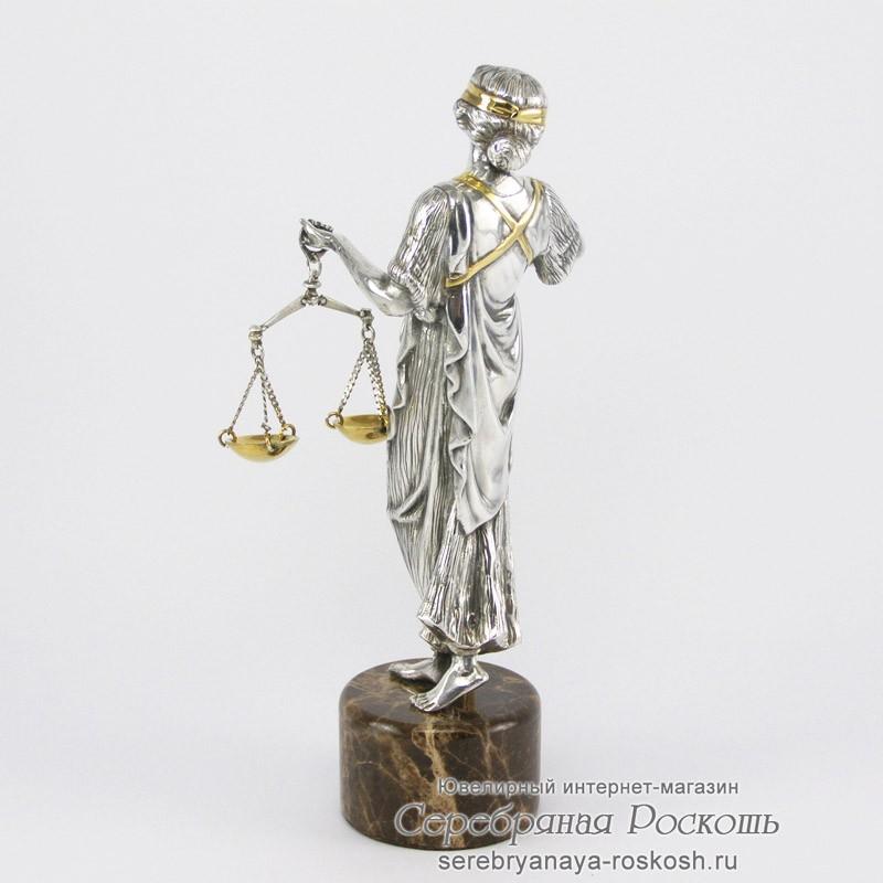 Статуэтка Фемида - Богиня правосудия