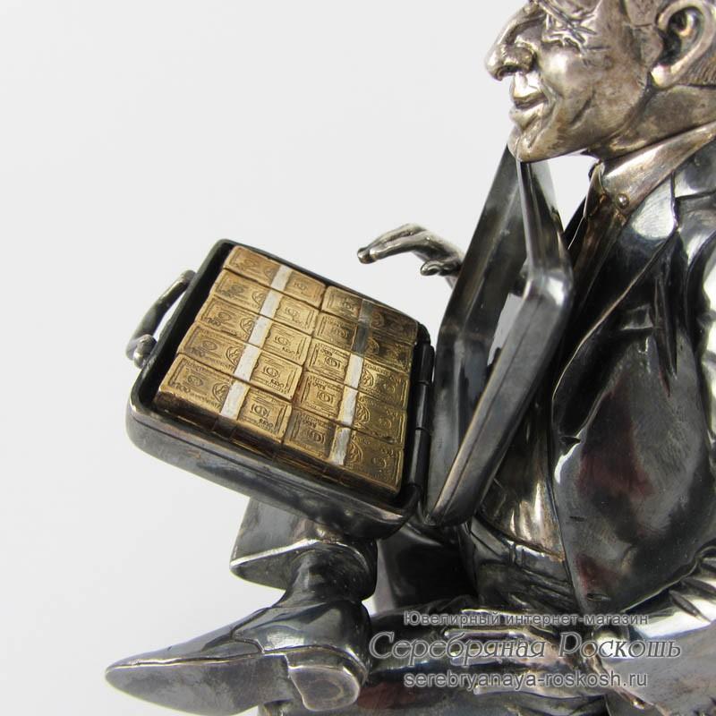 Статуэтка из серебра Директор - Руководитель