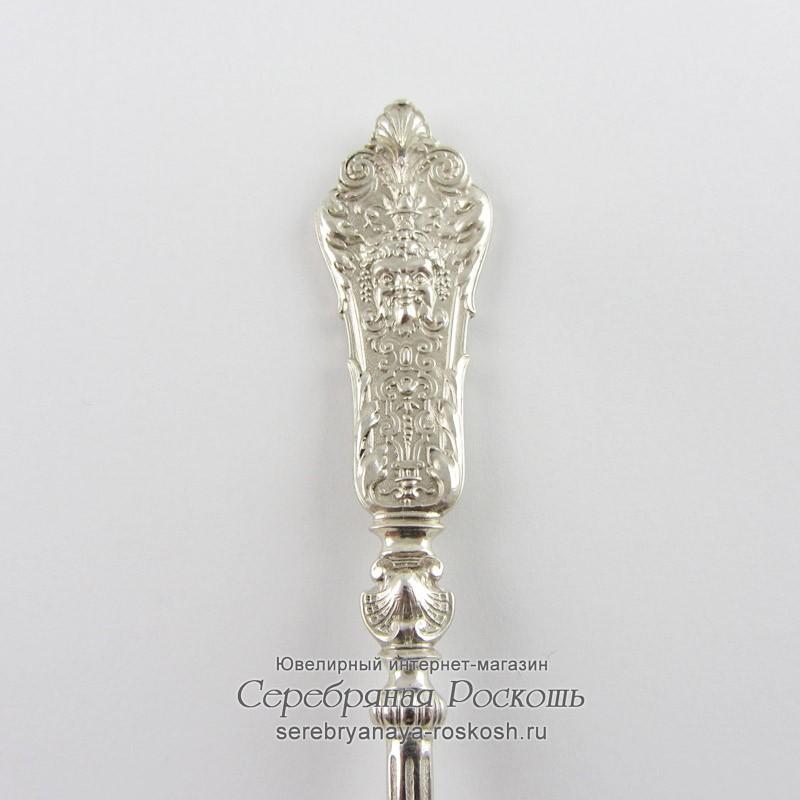 Ложка столовая из серебра Бахус