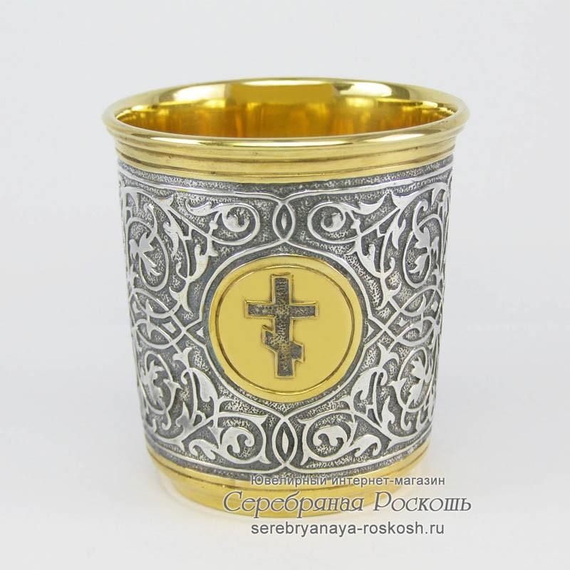 Серебряная стопка Церковь