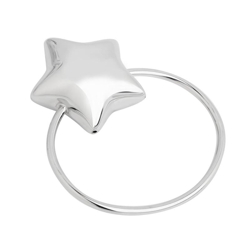 Серебряная погремушка Звезда