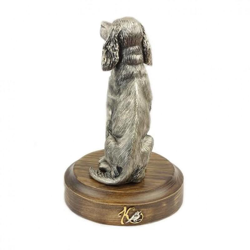 Серебряная статуэтка Собака