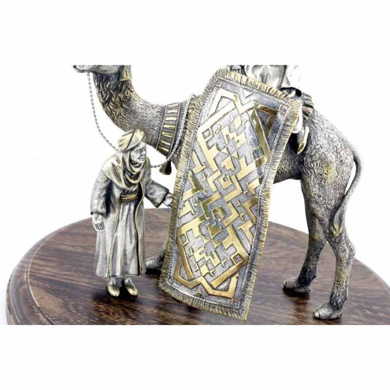 Серебряная композиция Торговля коврами