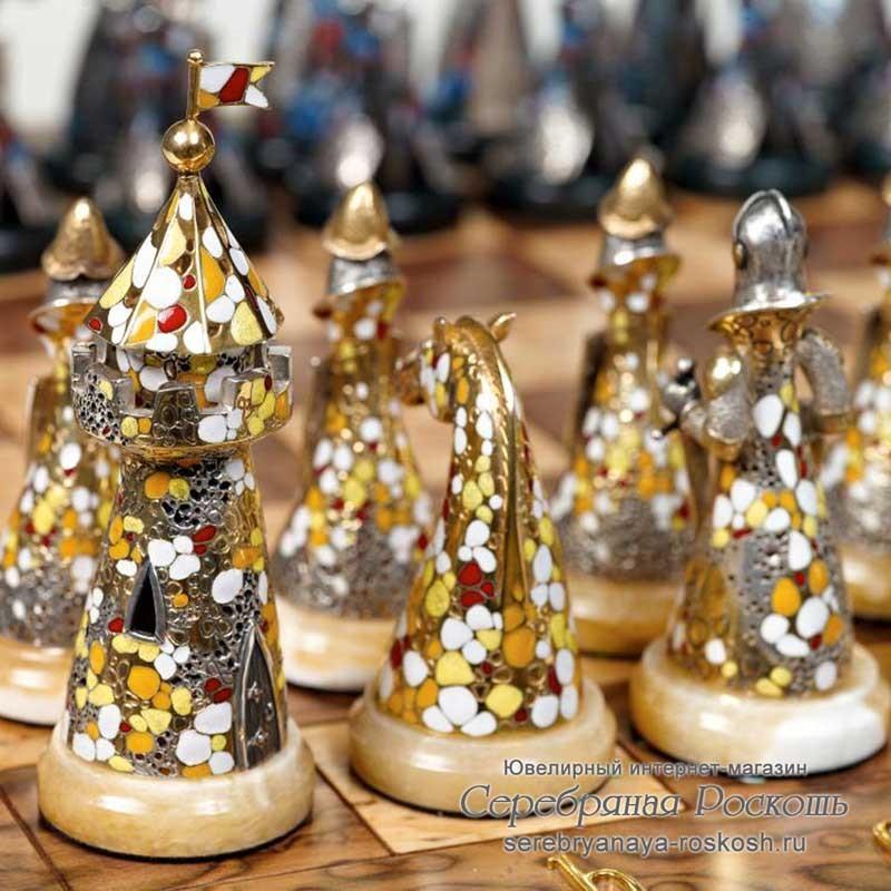 Шахматы серебряные Испанские
