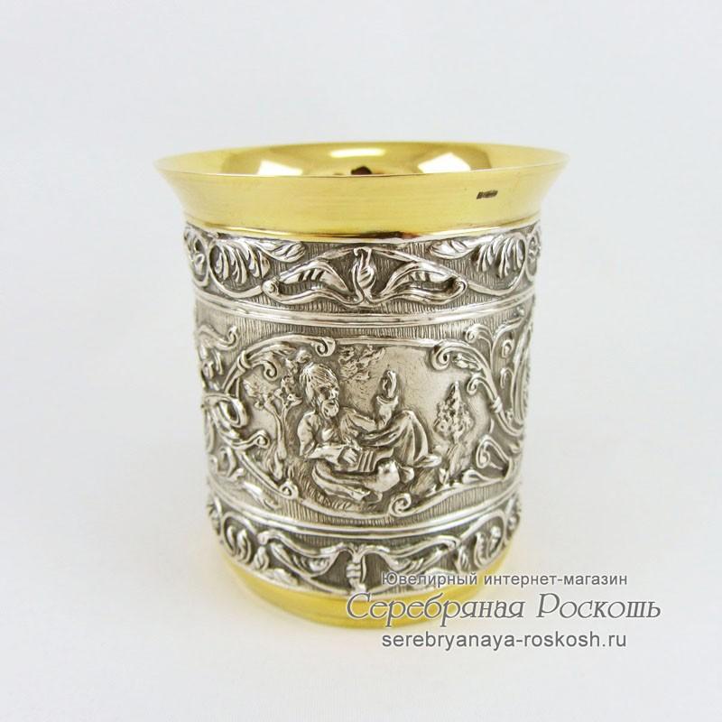 Стакан из серебра Древнерусский