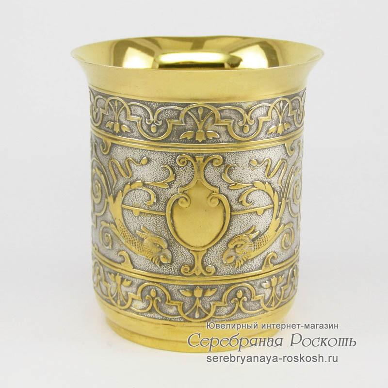Серебряный стакан Драконы