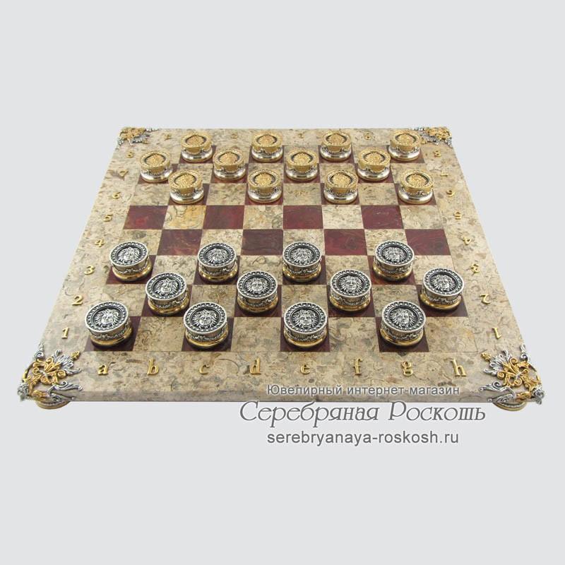 Серебряные шашки Боги против Титанов