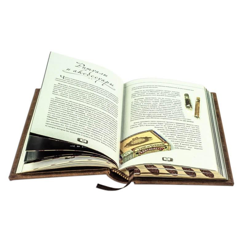 Сигары. Энциклопедия - Гессон Гийом - в кожаном переплете