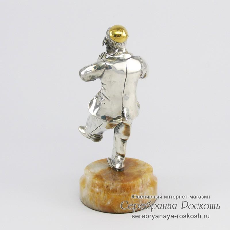 Серебряная статуэтка танцующий Еврей