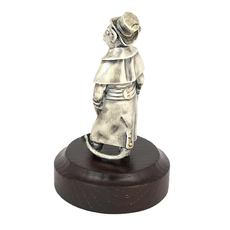 Серебряная статуэтка Крыса
