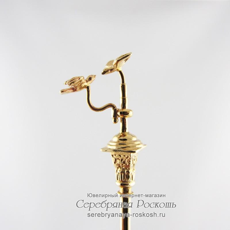 Кофейная ложка из золота Вагнер