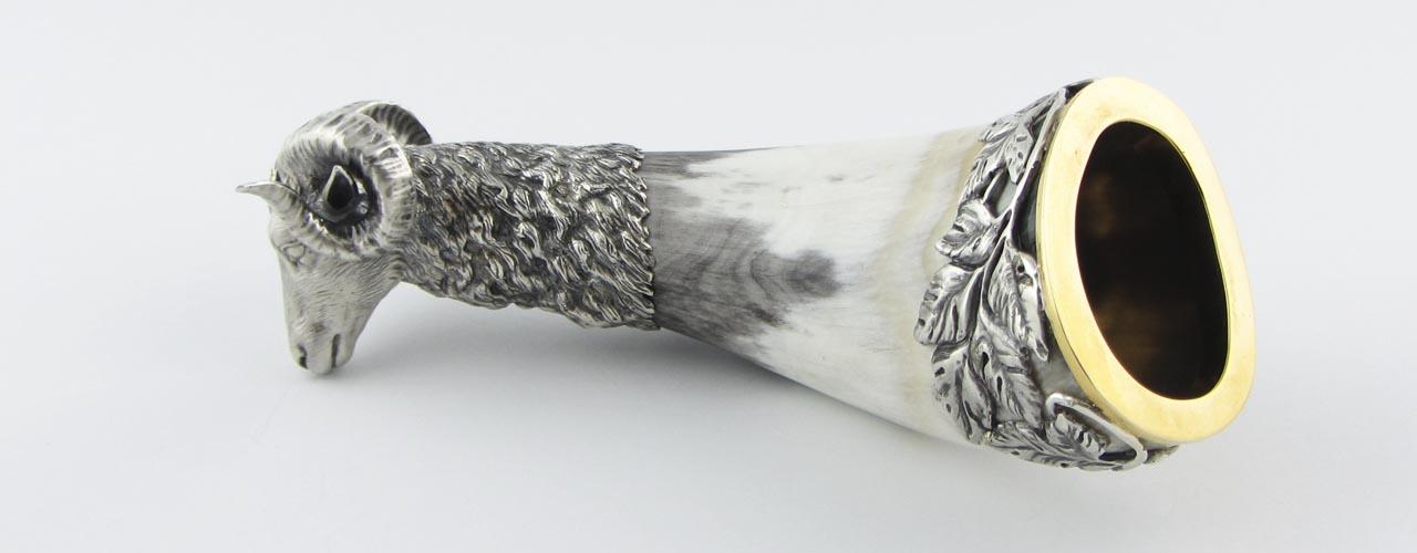 Серебряный ритон баран