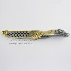 Нож ручной работы Собака (без упаковки)