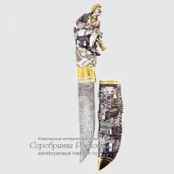 Сувенирный нож Мюнхгаузен (без упаковки)