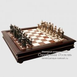 Подарочные шахматы Сулейман I против Карла V